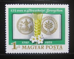 Poštovní známka Maïarsko 1972 Zemìdìlská akademie Mi# 2794