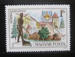 Poštovní známka Maïarsko 1978 Koszeg, 650. výroèí Mi# 3320