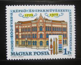 Poštovní známka Maïarsko 1978 Škola umìní Mi# 3272