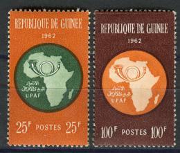 Poštovní známky Guinea 1962 Africká poštovní unie Mi# 105-06