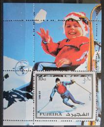 Poštovní známka Fudžajra 1972 ZOH Innsbruck Mi# Block 136