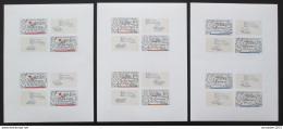 Poštovní známky Èeskoslovensko 1977 Spolupráce v Evropì Mi# 2407-09 Bogen Po# 2273-75 PL
