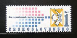 Poštovní známka Èeskoslovensko 1977 Den známek Mi# 2420 Po# 2291