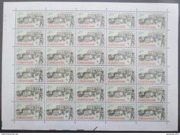 Poštovní známky Èeskoslovensko 1988 Poštovní muzeum Mi# 2955 Bogen Po# 2839