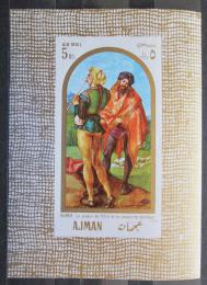 Poštovní známka Adžmán 1968 Umìní, Dürer Mi# Block 24