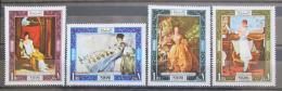 Poštovní známky Manáma 1969 Umìní Mi# 192-95