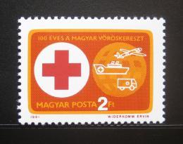 Poštovní známka Maïarsko 1981 Èervený køíž Mi# 3495