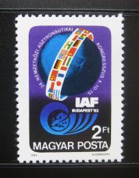 Poštovní známka Maïarsko 1983 Federace astronautiky Mi# 3643