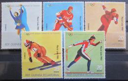 Poštovní známky Rovníková Guinea 1978 ZOH Lake Placid Mi# 1308-12