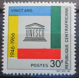 Poštovní známka SAR 1966 UNESCO, 20. výroèí Mi# 122