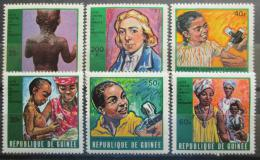 Poštovní známky Guinea 1970 Boj proti neštovicím Mi# 553-58