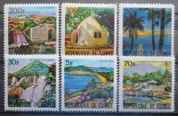 Poštovní známky Guinea 1967 Pøírodní scenérie Mi# 437-42