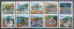 Poštovní známky Guinea 1967 Lions Intl. pøetisk Mi# 447-56 Kat 16€