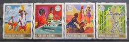 Poštovní známky Guinea 1969 ILO, 50. výroèí Mi# 549-52