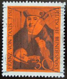 Poštovní známka Nìmecko 1967 Franz von Taxis Mi# 535