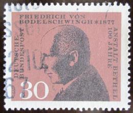 Poštovní známka Nìmecko 1967 Friedrich Bodelschwingh, teolog Mi# 537