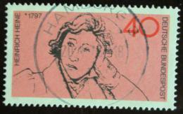 Poštovní známka Nìmecko 1972 Heinrich Heine, básník Mi# 750