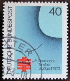 Poštovní známka Nìmecko 1973 Plakát festivalu Mi# 763