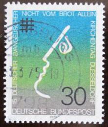 Poštovní známka Nìmecko 1973 Setkání protestantù Mi# 772