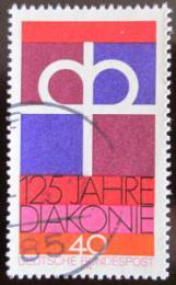 Poštovní známka Nìmecko 1974 Nìmecký protestantský kostel Mi# 810