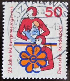 Poštovní známka Nìmecko 1975 Fond matek Mi# 831