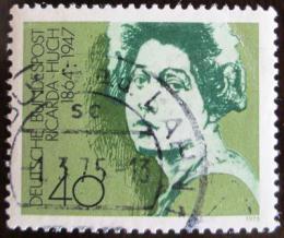 Poštovní známka Nìmecko 1975 Ricarda Huch, spisovatelka Mi# 827