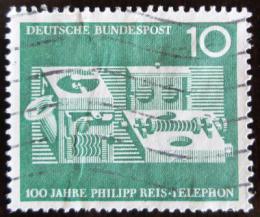 Poštovní známka Nìmecko 1961 První telefon Mi# 373