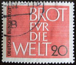 Poštovní známka Nìmecko 1962 Chleba pro svìt Mi# 389