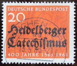 Poštovní známka Nìmecko 1963 Heidelberský katechismus Mi# 396