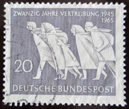 Poštovní známka Nìmecko 1965 Vyhoštìní Nìmcù Mi# 479