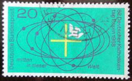 Poštovní známka Nìmecko 1968 Den nìmeckých katolíkù Mi# 568