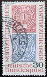 Poštovní známka Nìmecko 1968 Severonìmecká konference Mi# 569