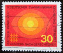 Poštovní známka Nìmecko 1969 Setkání protestantù Mi# 595