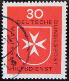 Poštovní známka Nìmecko 1969 Maltézský køíž Mi# 600