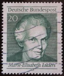 Poštovní známka Nìmecko 1969 Marie-Elisabeth Luders Mi# 597