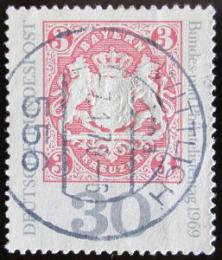 Poštovní známka Nìmecko 1969 Známka Bavorska Mi# 601