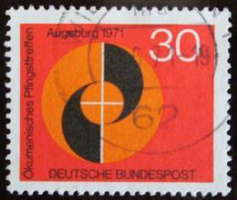Poštovní známka Nìmecko 1971 Ekumenický kongres Mi# 679