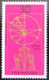 Poštovní známka Nìmecko 1971 Ilustrace od Keplera Mi# 688