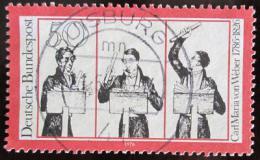 Poštovní známka Nìmecko 1976 Carl Maria von Weber, skladatel Mi# 894