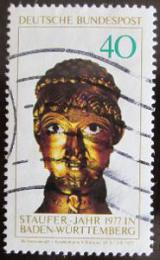Poštovní známka Nìmecko 1977 Barbarossova hlava Mi# 933