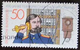 Poštovní známka Nìmecko 1977 Sto let telefonù Mi# 947