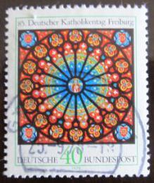 Poštovní známka Nìmecko 1978 Katolický kongres Mi# 977