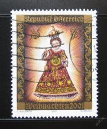 Poštovní známka Rakousko 2001 Vánoce Mi# 2362