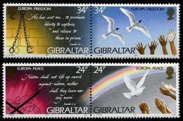 Poštovní známky Gibraltar 1995 Evropa CEPT Mi# 710-13