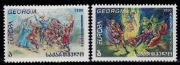 Poštovní známky Gruzie 1998 Evropa CEPT Mi# 296-97