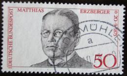 Poštovní známka Nìmecko 1975 Matthias Erzberger, politik Mi# 865