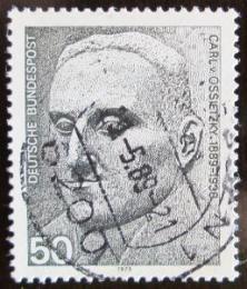 Poštovní známka Nìmecko 1975 Carl von Ossietzky, publicista Mi# 871