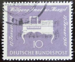 Poštovní známka Nìmecko 1956 Klavichord Mi# 228