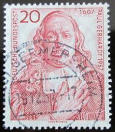 Poštovní známka Nìmecko 1957 Paul Gerhardt, básník Mi# 253