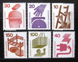 Poštovní známky Nìmecko 1972 Prevence proti nehodám roèník Kat 11.10€
